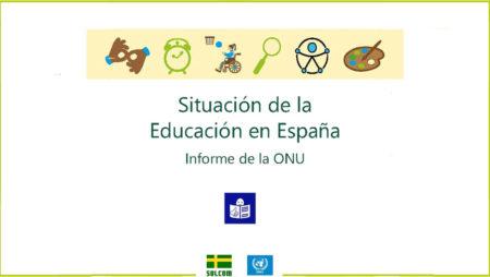 Webinar: Presentación del Informe sobre la situación de la educación en España del Comité de seguimiento de la Convención sobre los Derechos de las Personas con Discapacidad, en lectura fácil
