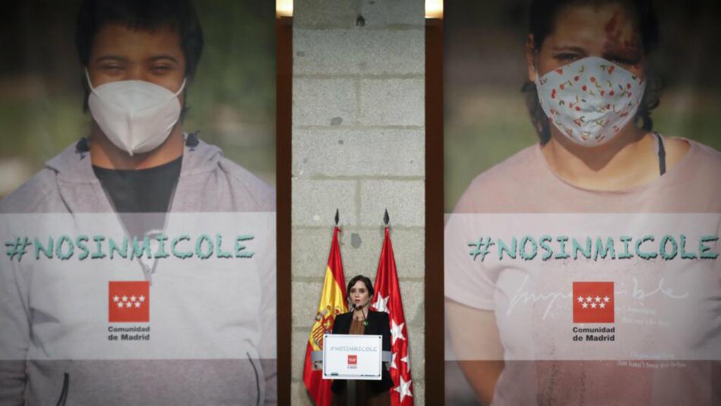Presentación de la campaña 'No sin mi cole'