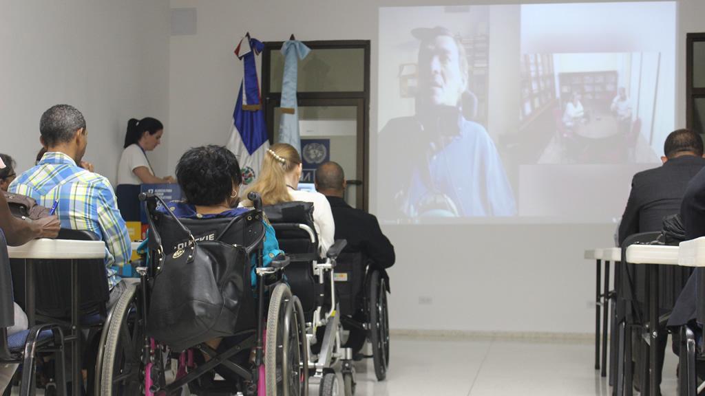 Intervención de Alejandro Rodríguez-Picavea a través de videoconferencia