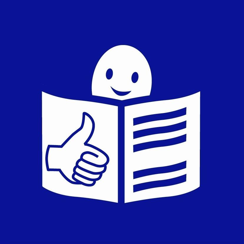 Símbolo de lectura fácil